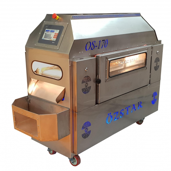 OS170 Belt Type Roasting Machine (Electricity)