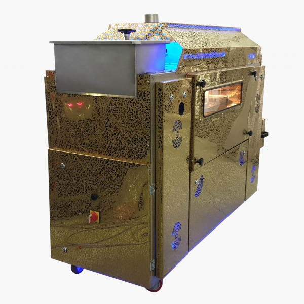 OS175 Belt Type Roasting Machine (Electricity)