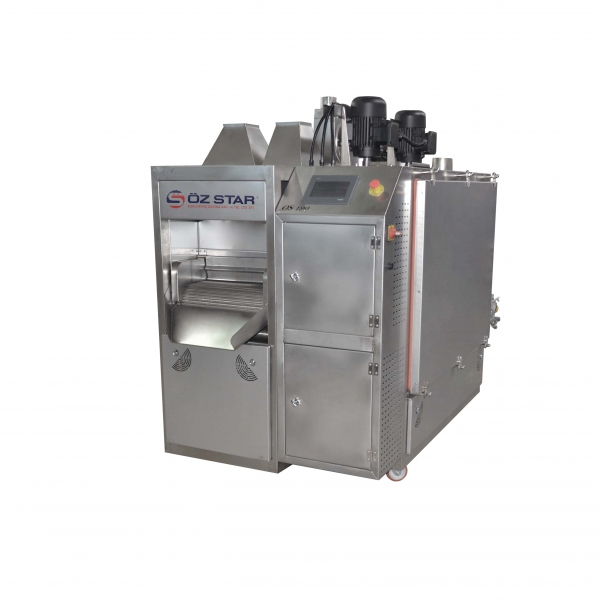 OS190 Belt Type Roasting Machine