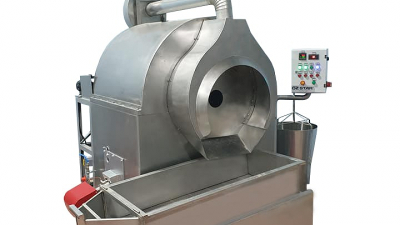 OS120 Drum Type Roasting Machine