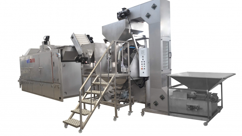 OS300 Belt Type Roasting Machine