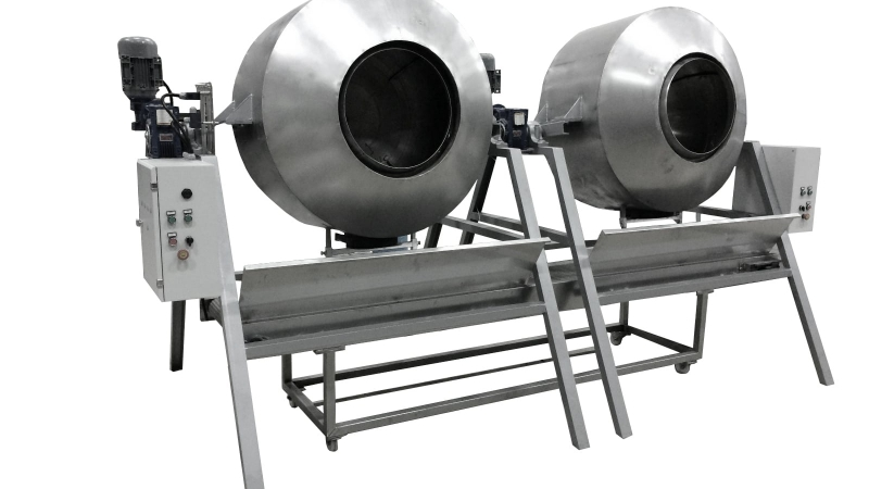 OS1361 Double Drum Sesame Coating Machine
