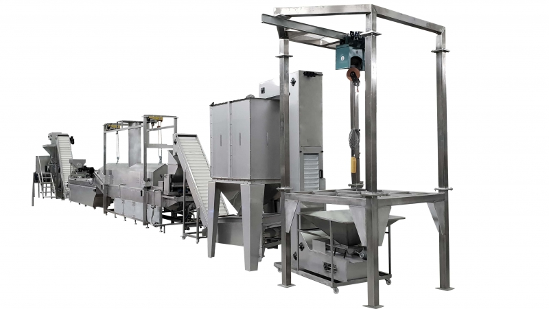 OS850 Chips Production Line