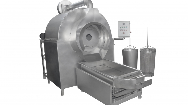 OS130 Drum Type Roasting Machine
