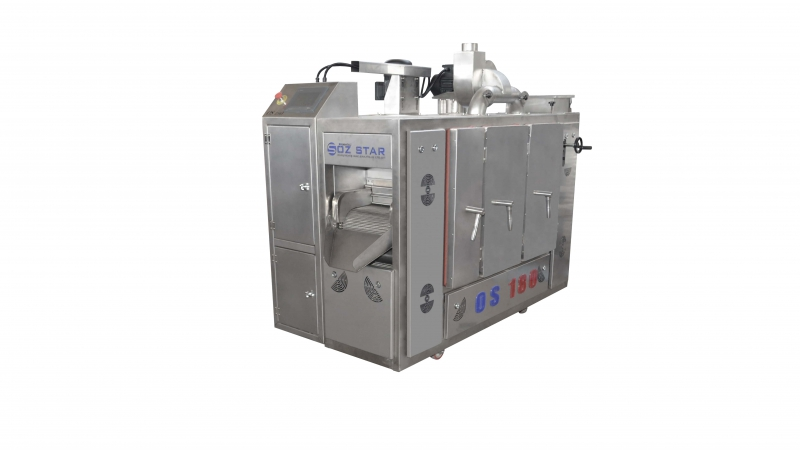 OS180 Belt Type Roasting Machine