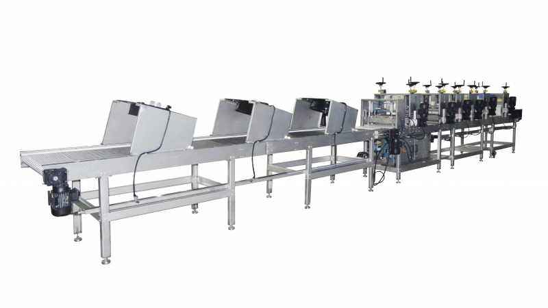 OS1400 Croquant Bar Line and Cutting Machine