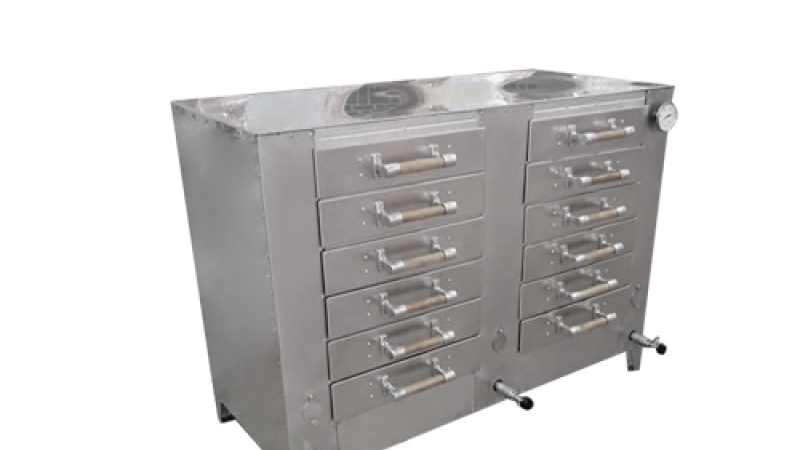 OS551 Dual Drawer Roasting Oven